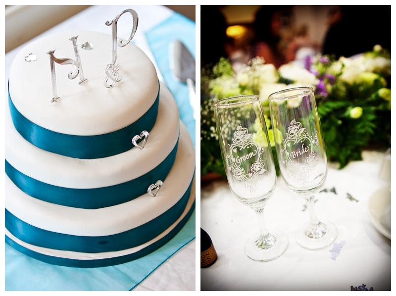 Cake detail shot