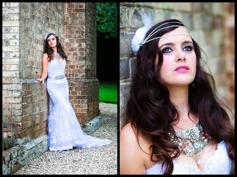1940's 1930's inspired bride at smeetham hall