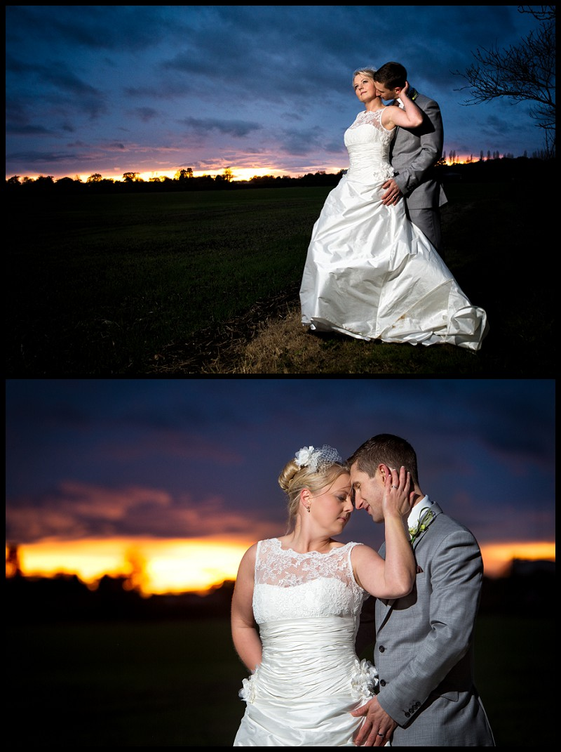 beautiful wedding photography of bride and groom at the granary barns