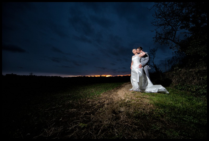 dramatic wedding photography at the granary estates