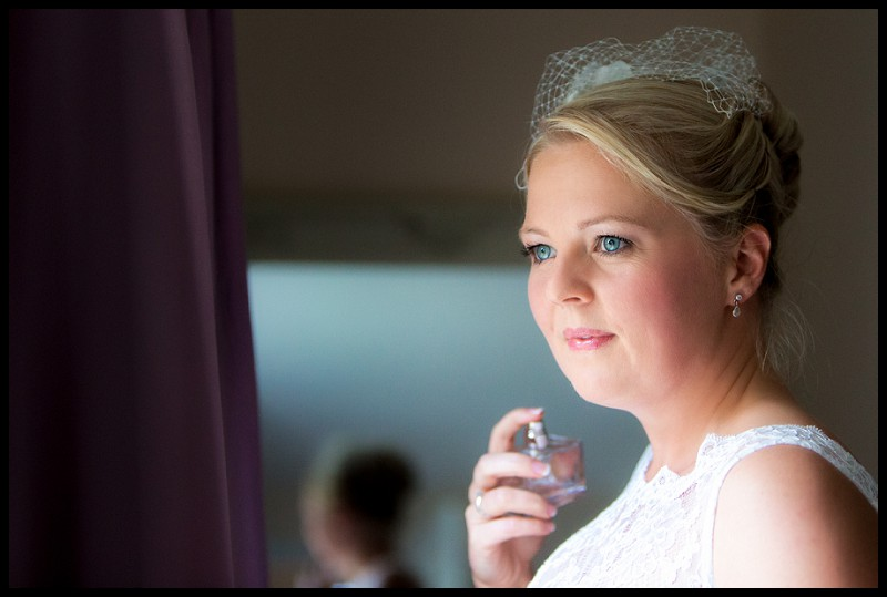 bridal portrait at the granary cottage