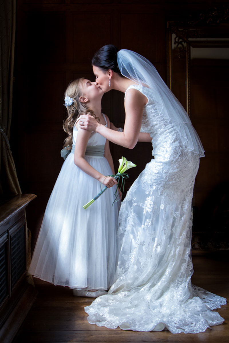Bride and Bridesmaid on Wedding Photography Gallery