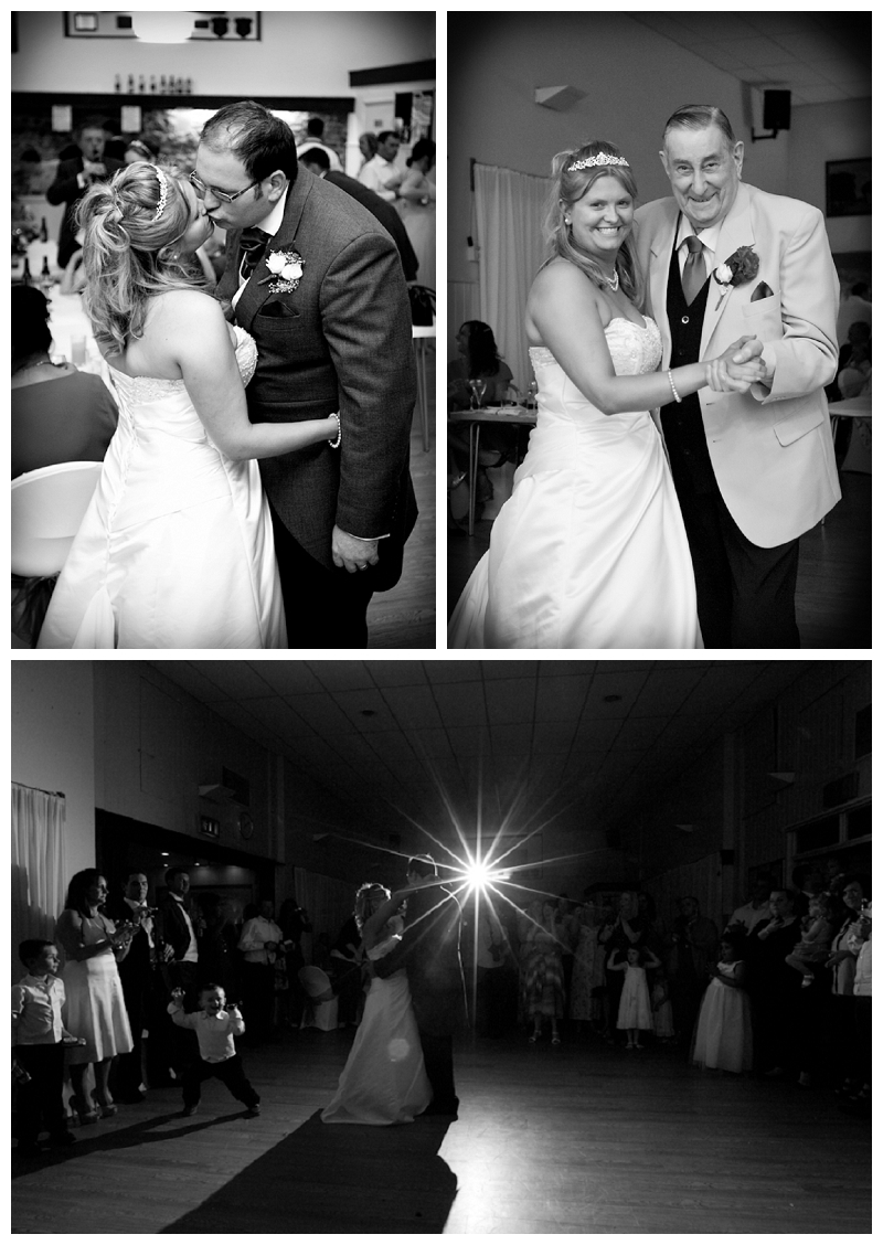 first dance at White Hart Barn in Godstone