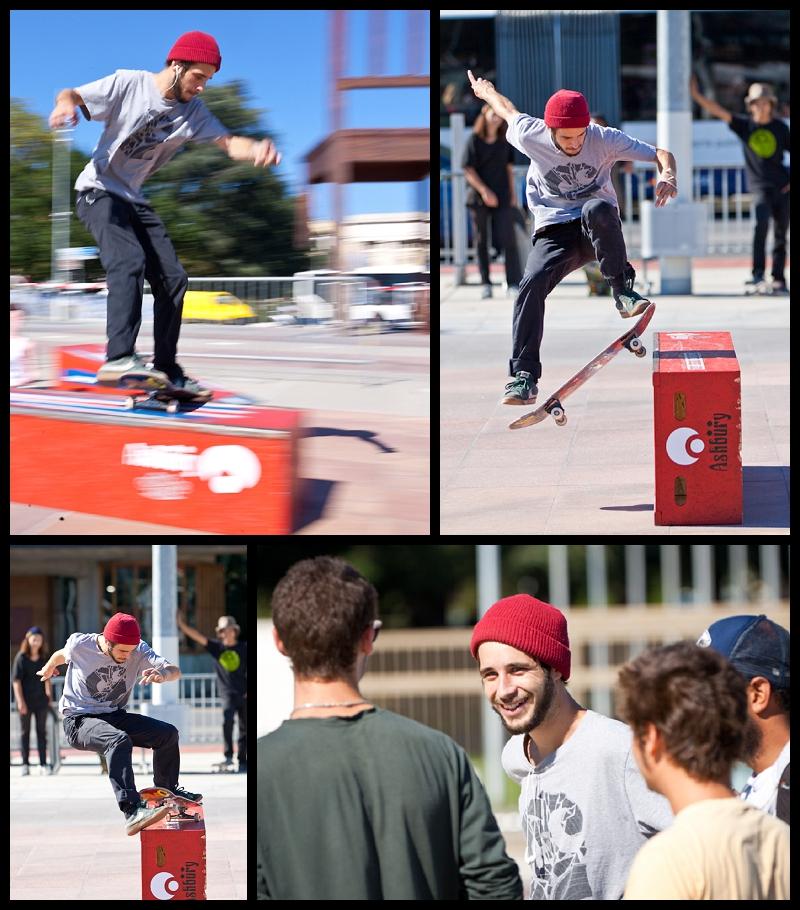 skateboarding in Geneva