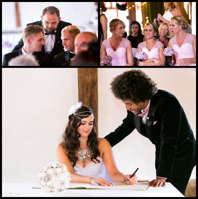 smeetham hall barn wedding