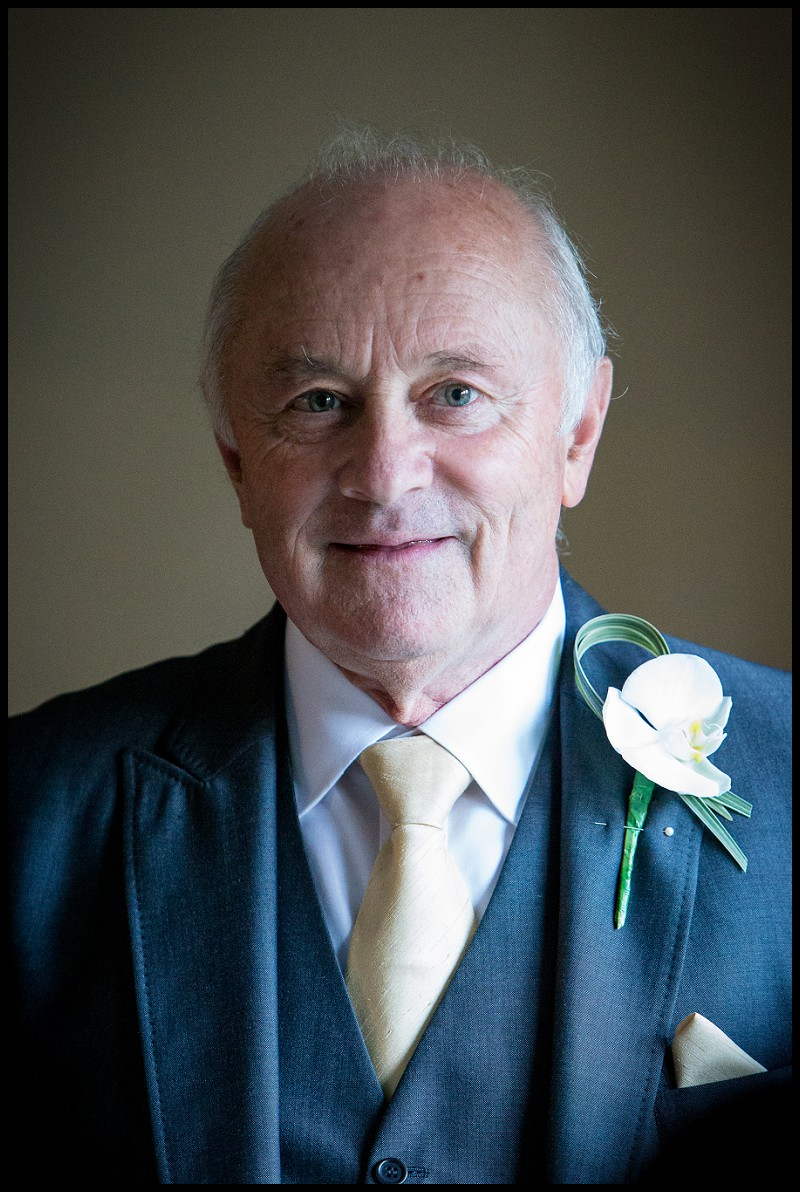 portrait of father of the bride