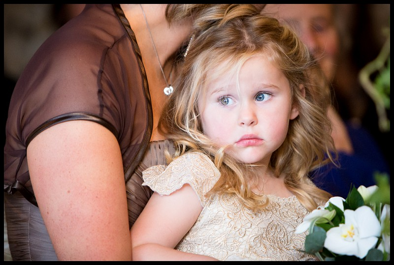 flowergirl at the granary barns