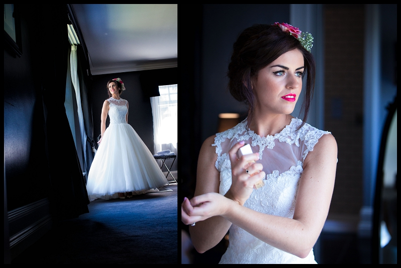 bride at Paddocks House