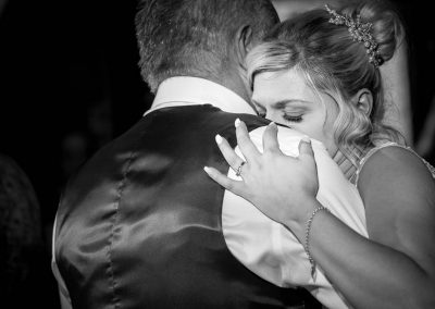 Bride dancing with Father Granary Barns Wedding