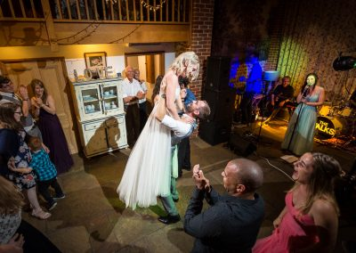 Chaucer Barn Wedding First Dance