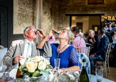 Granary Barns Wedding toast