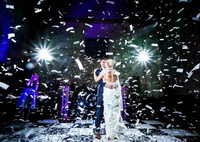 Granary Estates Wedding Confetti Canon