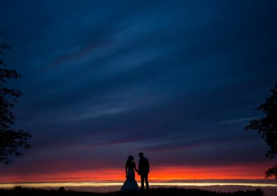 Cambridge Wedding Photography Sunset