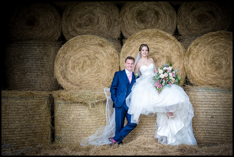 bride and room in norfolk barn