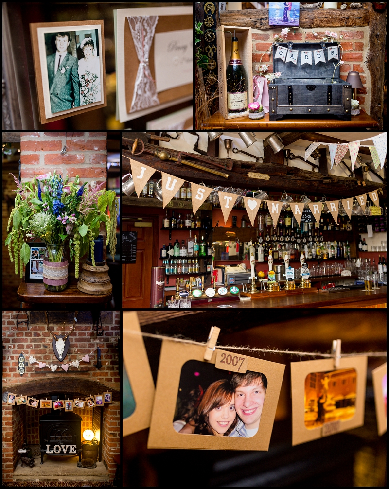 pub wedding details