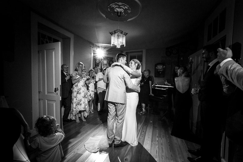 first dance at Madeira wedding